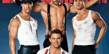 Magic Mike on Entertainment Weekly