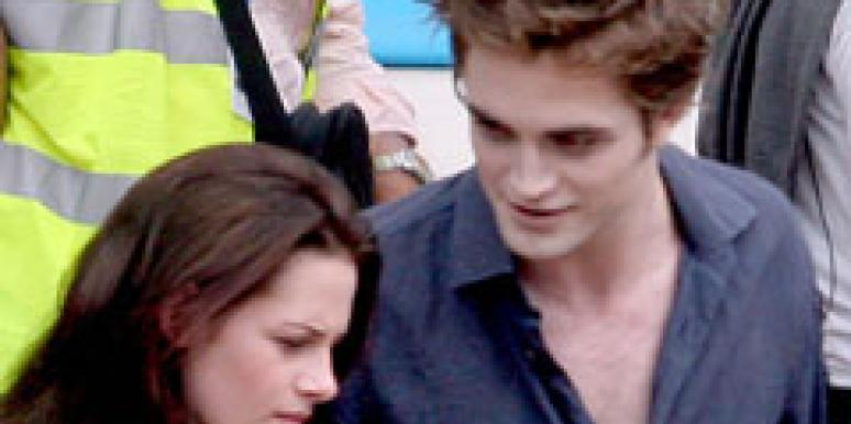 Robert Pattinson Kristen Stewart ComicCon Eclipse Twilight