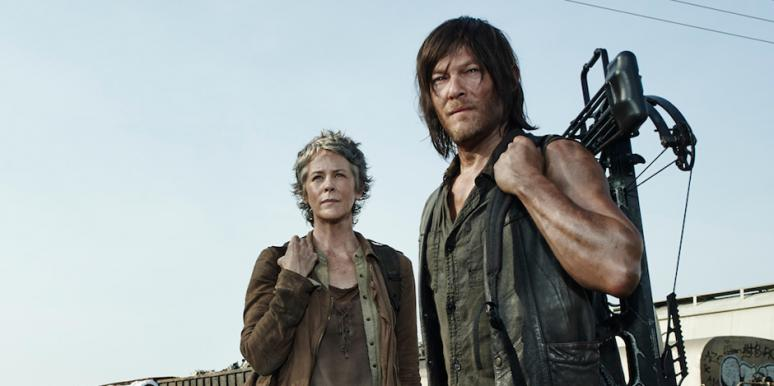 AMC The Walking Dead Melissa McBride Carol Pelletier Norman Reedus Daryl Dixon Daryl and Carol Caryl