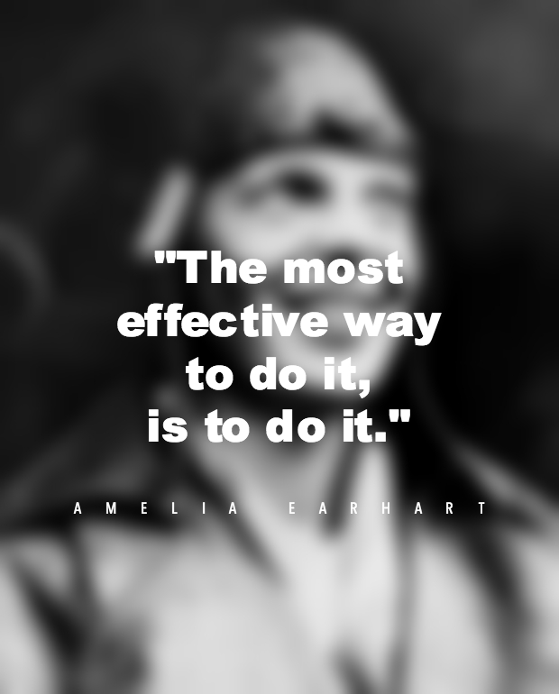 Amelia Earhart Strong Women Quotes