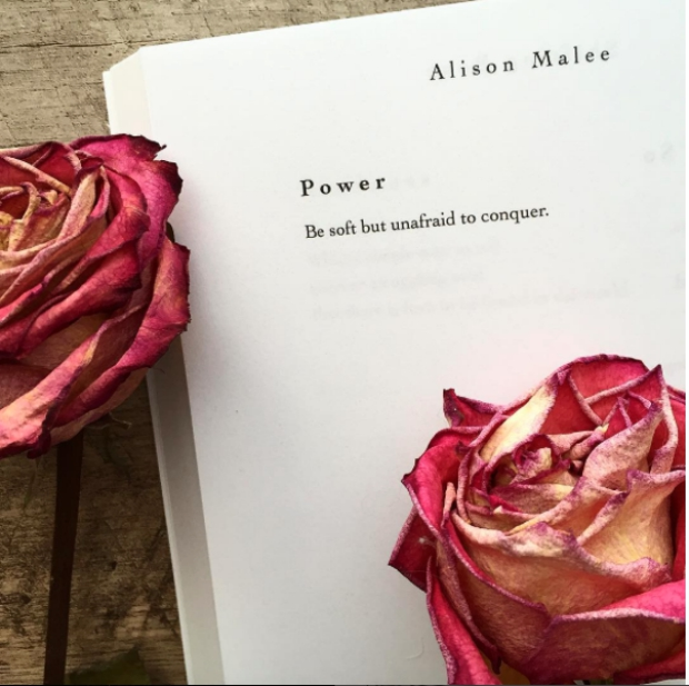 Inspirational Strong Woman Instagram Quotes by poet Alison Malee