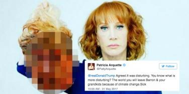 10 Of The Best Tweets & Memes About Kathy Griffin's Anti-Trump Photoshoot