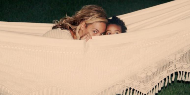 Beyonce-knowles-carter and Blue-Ivy-Carter