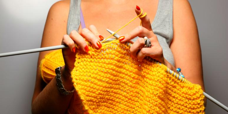 Zone out while you knit.