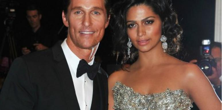 Matthew McConaughey & Camile Alves married