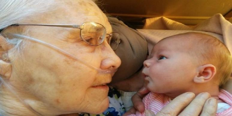 great-grandmother baby