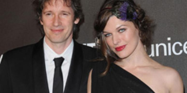 milla jovovich marriage