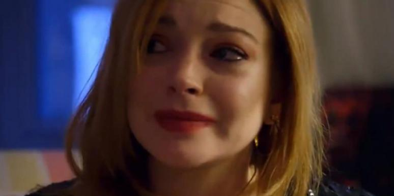 Lindsay Lohan crying on OWN about her miscarriage
