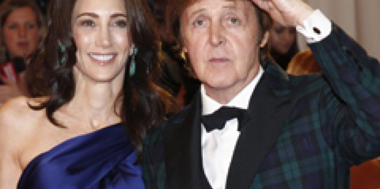 Paul McCartney Nancy Shevell