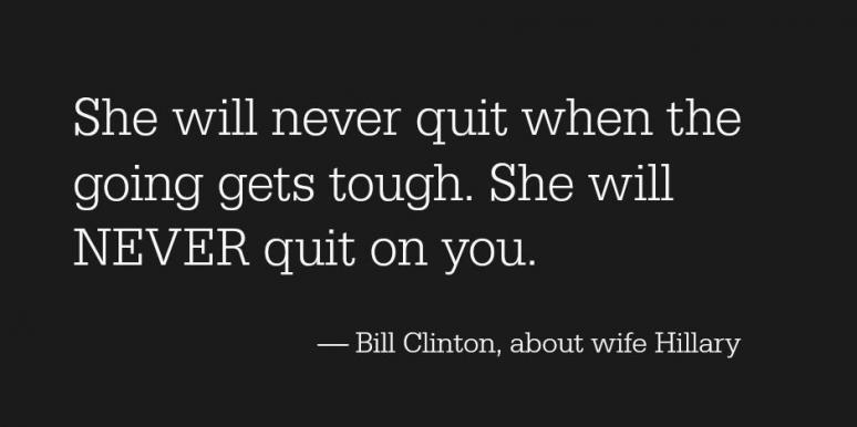 bill clinton hillary clinton love quotes