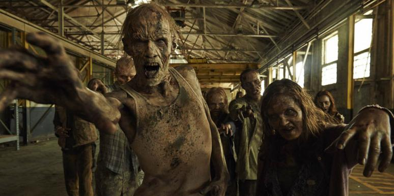 "Zombies and walkers in ""Fear The Walking Dead"" AMC"