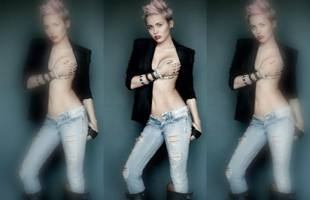 MIley Cyrus nude from V Magazine