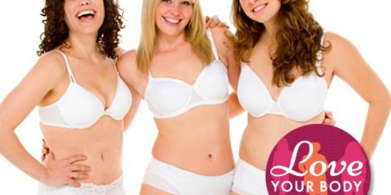 3 young women in bras and underwear