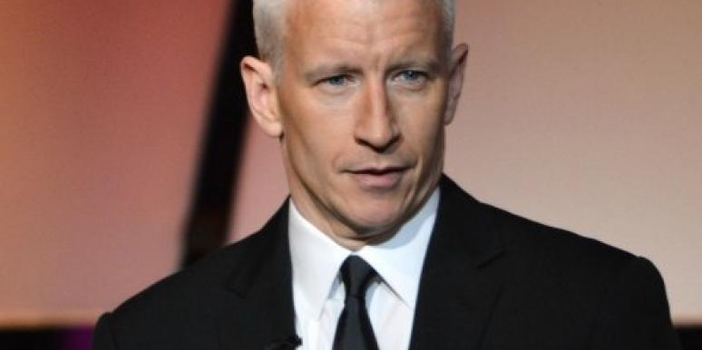 Anderson cooper cheating
