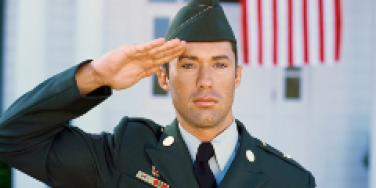 soldier salute