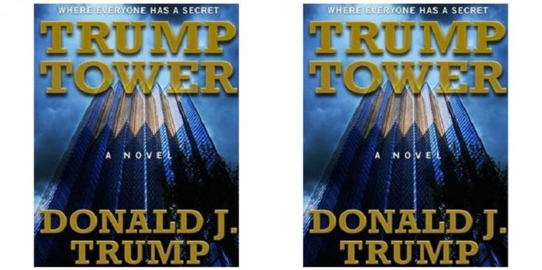 donald trump wrote s&m romance novel