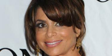 Paula Abdul on the red carpet.
