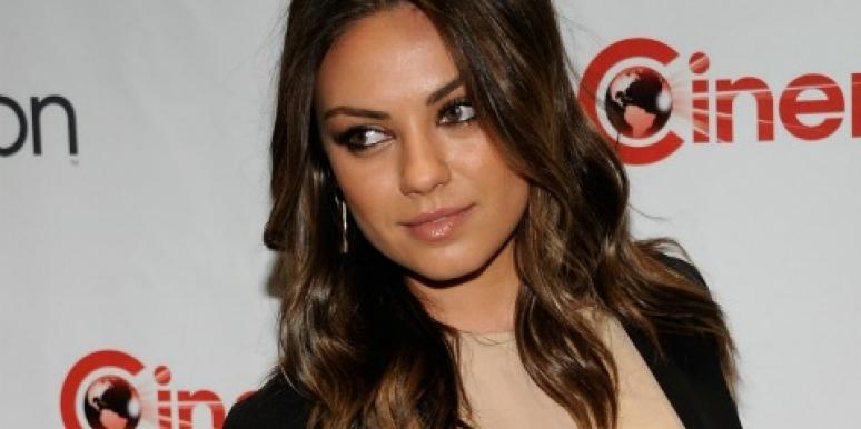 Mila Kunis CinemaCon 2012