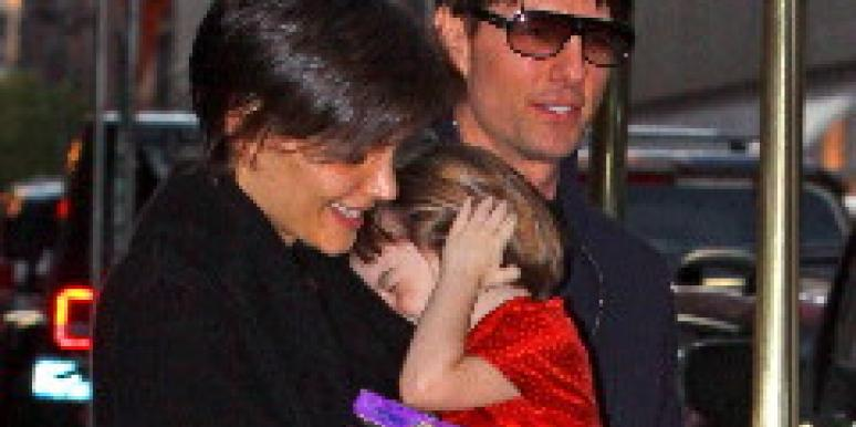 tom cruise and katie holmes and suri cruise and katie holmes pregnant scientology