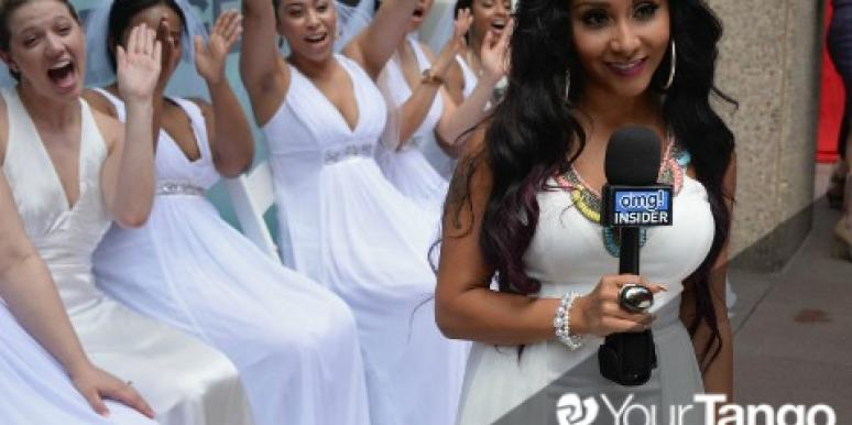 Exclusive! Snooki Gives Details About Her Wedding & The Dress!
