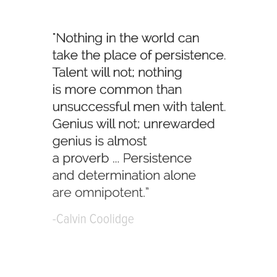 Clavin Coolidge inspirational president quotes