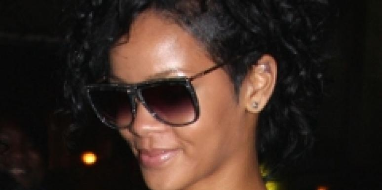 rihanna parties with basketball players