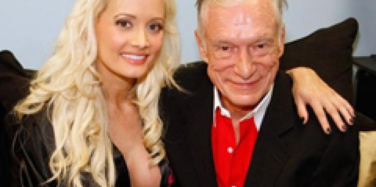 Hugh Hefner Holly Madison