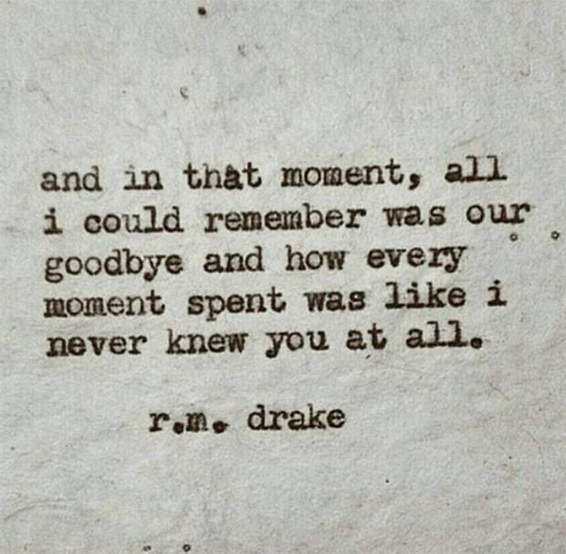 R.M.Drake Instagram Quotes About Life And Love