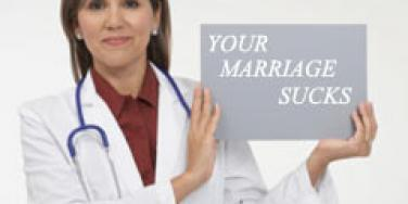 "You Might Need A ""Marriage Checkup"""