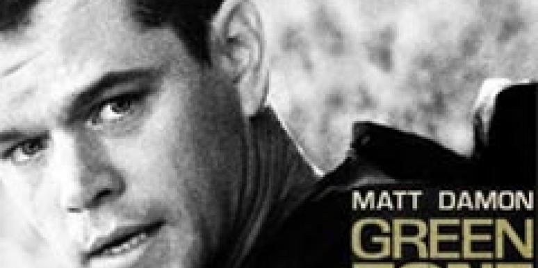 green zone, matt damon