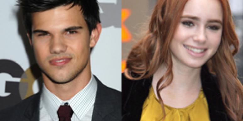 Taylor Lautner Lily Collins