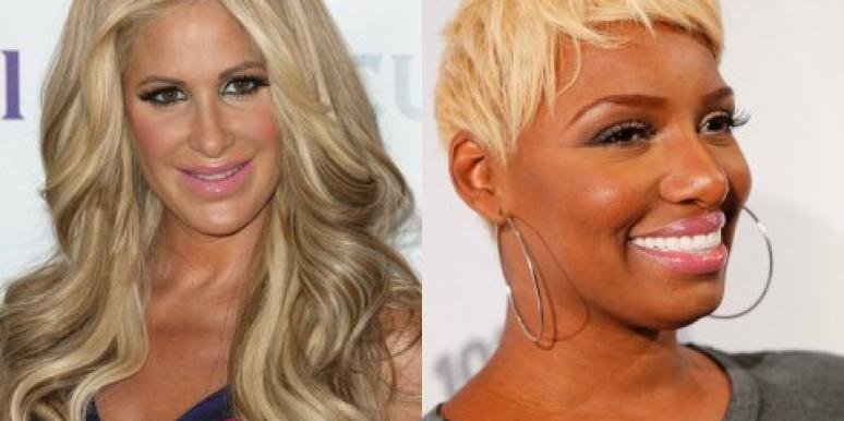 Kim Zolciak and NeNe Leaks
