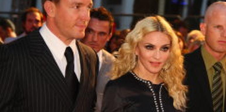 Drawing Sides In the Madonna Divorce