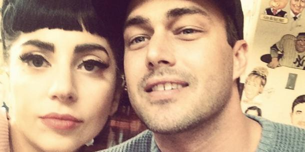 Lady Gaga and Taylor Kinney - Instagram