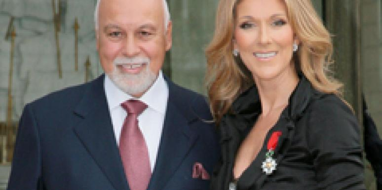 Celine Dion and Husband