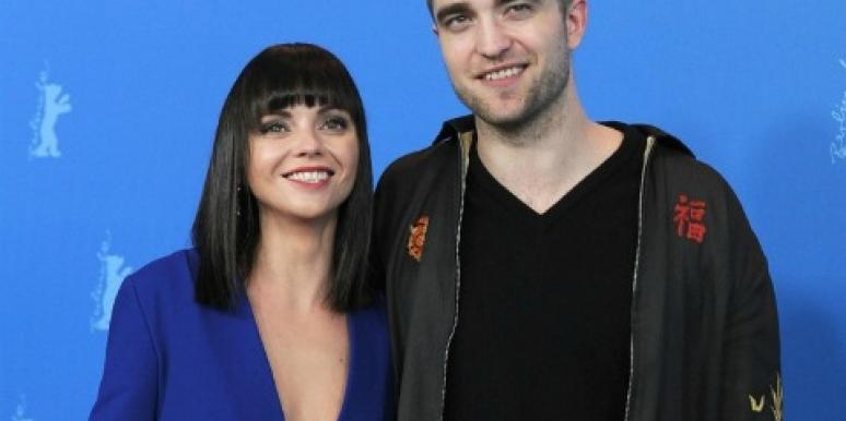 "Christina Ricci Admits What A ""Good Kisser"" Robert Pattinson Is"