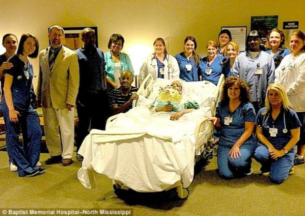 """<a href="""" http://www.dailymail.co.uk/news/article-2614949/Life-happened-never-chance-married-Woman-terminal-cancer-experiences-marital-bliss-weds-partner-28-years-hospital.html#ixzz30DY07E3v"""" target=""""_blank"""">dailymail.co.uk</a>"""