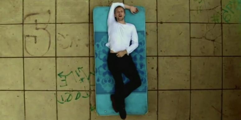 "Chris Martin from Coldplay's ""The Scientist"""