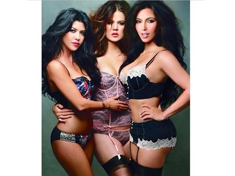 naked pictures of the kardashian sisters